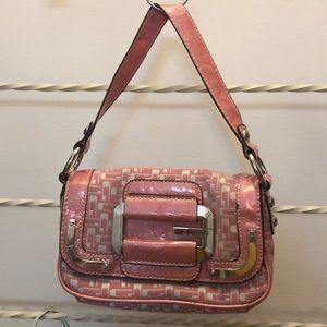 Women Pink Handbag Guess Brand.